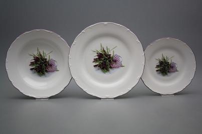 Plate set Ofelia Provence 12-piece IFL č.1