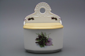 Wall box for foodstuffs with wooden cover Provence FL