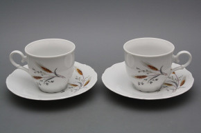 Coffee cup 0,18l and saucer Ofelia Corn BB