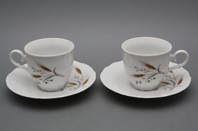 Coffee cup 0,18l and saucer Ofelia Corn BB č.1