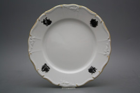 Flat plate 25cm Marie Louise Rococo dolls EGL