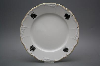 Flat plate 25cm Marie Louise Rococo dolls EGL č.1