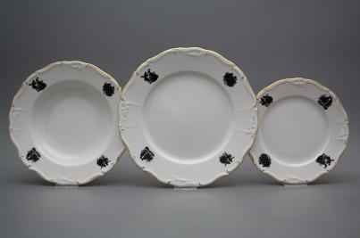 Plate set Marie Louise Rococo dolls 12-piece EGL č.1