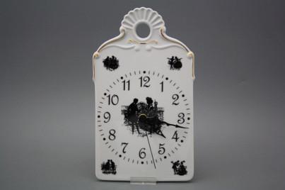 Cutting board clock Rococo dolls GL č.1