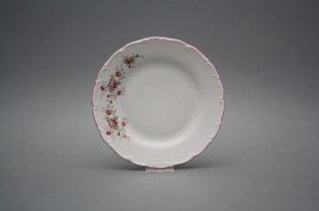 Dessert plate 19cm Ofelia Pink roses HRL