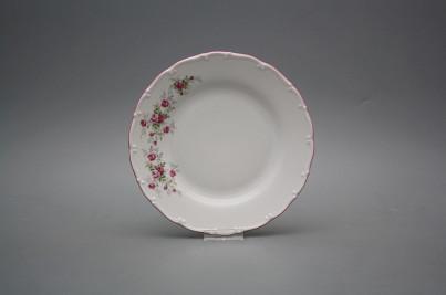 Dessert plate 19cm Ofelia Pink roses HRL č.1