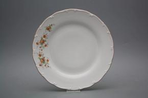 Flat plate 25cm Ofelia Tea roses HHL