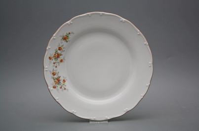 Flat plate 25cm Ofelia Tea roses HHL č.1