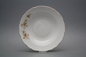 Deep plate 23cm Ofelia Tea roses HHL