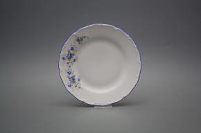 Dessert plate 19cm Ofelia Light blue roses HAL