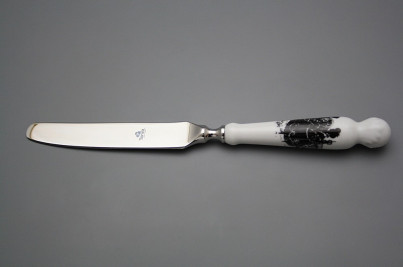 Table knife Bohemia 1987 Rococo dolls BB č.1