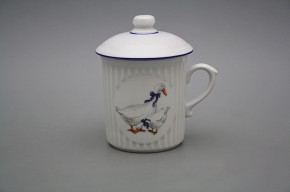 Mug Mozart 0,25l with cover Geese ML