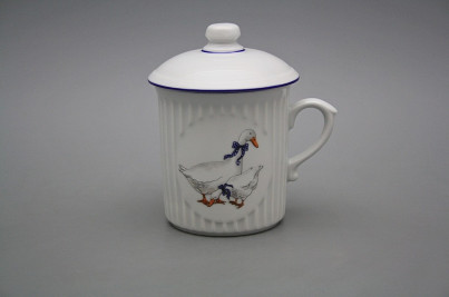 Mug Mozart 0,25l with cover Geese ML č.1