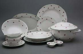 Dining set Ofelia Ladybirds 25-piece AZL