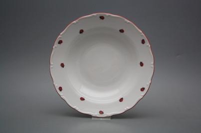 Deep plate 23cm Ofelia Ladybirds ACL č.1