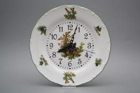 Plate clock 25cm Ofelia Wild boar FZL