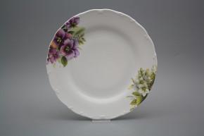 Flat plate 25cm Ofelia Pansy DBB