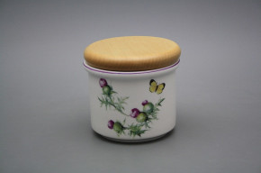 Box with wooden cover A - small Thistle RL