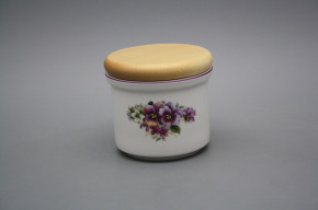 Box with wooden cover A - small Pansy FL