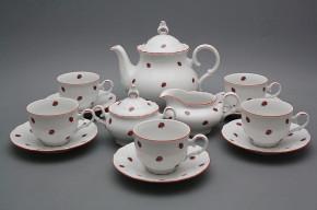 Tea set Ofelia Ladybirds 15-piece CL