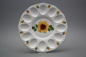 Tray for eggs 24cm Rokoko Sunflowers ZL