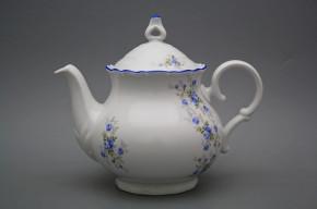 Teapot 1,2l Ofelia Light blue roses AL
