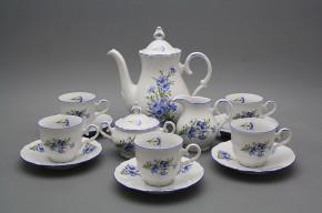 Coffee set Ofelia Cornflowers 15-piece AL