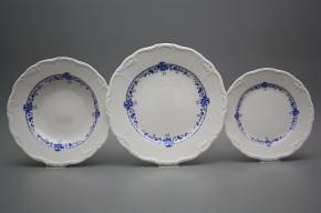 Plate set Maria Louise Royal Blue 24-piece BB