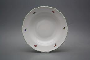 Deep plate 23cm Ofelia Bouquet Sprays AZL