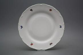 Flat plate 25cm Ofelia Bouquet Sprays AZL
