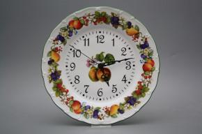 Plate clock Ofelia Orchard JZL