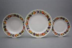 Plate set Ofelia Orchard 24-piece KZL
