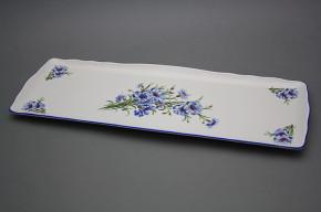 Tray square 45cm Rokoko Cornflower AL