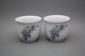 Flower pot small 16cm Cornflowers AL