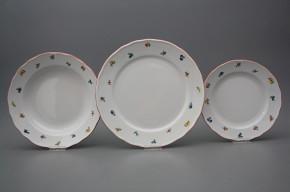 Plate set Rokoko Sprays 12-piece ACL
