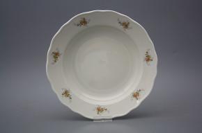 Deep plate 24cm Rokoko ECRU Tea roses BB