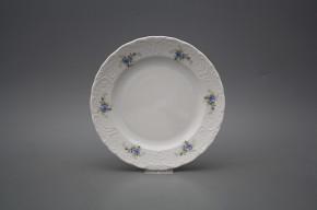 Dessert plate 19,5cm Opera Light blue roses BB