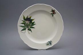 Flat plate 24cm Rokoko ECRU Herbs CBB