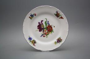 Flat plate 25cm Ofelia Bouquet GFL