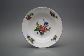 Deep plate 23cm Ofelia Bouquet GFL
