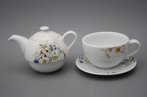 Tea set Duo Flowering meadow BB
