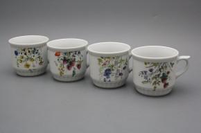 Peasant mug 0,42l Flowering meadow BB