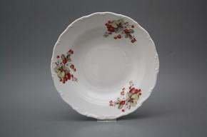 Deep plate 23cm Ofelia Strawberries CBB