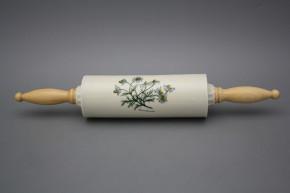 Rolling pin ECRU Herbs BB