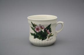 Pearl mug big 0,37l ECRU Herbs BB