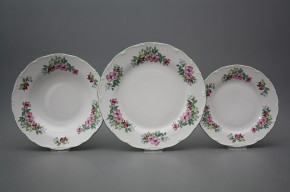 Plate set Ofelia Country lane 18-piece AZL