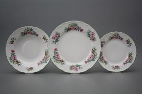 Plate set Ofelia Country lane 24-piece AZL