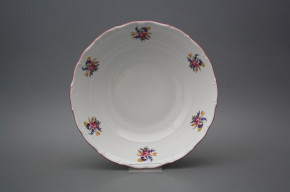 Deep dish 23cm Ofelia Bouquet with irisies ARL