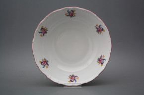 Deep dish 25cm Ofelia Bouquet with irisies ARL