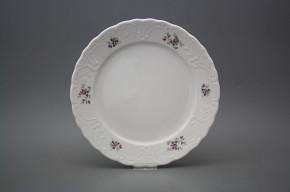 Flat plate 24cm Opera Scatter Violets BB